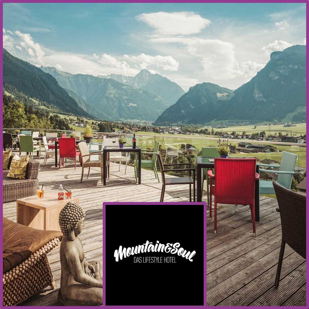 Rosenbund Gewinn Hotel Mountain & Soul