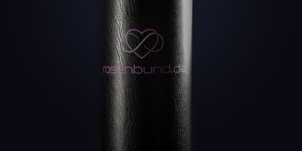 Rosenbund Loveletter-Box vor dunklem Hintergrund